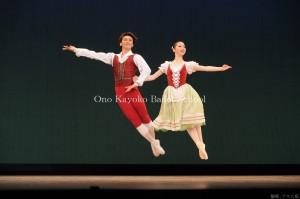 バレエコンサート3 「ジゼル」よりペザントのグランパ・ド・ドゥ
